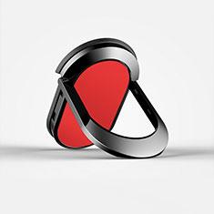 Fingerring Ständer Smartphone Halter Halterung Universal R07 Rot