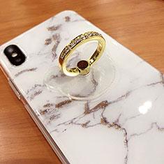 Fingerring Ständer Smartphone Halter Halterung Universal S15 für Google Pixel 3 Gold