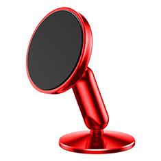 Halter Halterungung Auto Halter Halterung Magnet Saugnapf Universal S01 für Sony Xperia XA2 Plus Rot