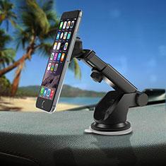 Halter Halterungung Auto Halter Halterung Magnet Saugnapf Universal S02 für Sony Xperia XA2 Plus Silber