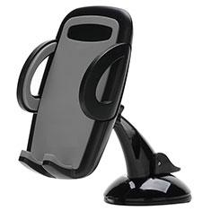 Halter Halterungung Auto Halter Halterung Saugnapf Universal H09 für Sony Xperia XA2 Plus Schwarz