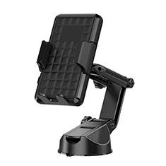Halter Halterungung Auto Halter Halterung Saugnapf Universal H17 für Sony Xperia XA2 Plus Schwarz