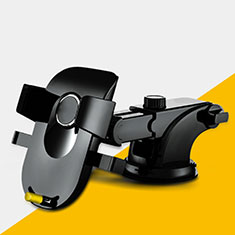 Halter Halterungung Auto Halter Halterung Saugnapf Universal H20 für Sony Xperia XA2 Plus Schwarz