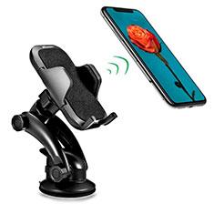 Halter Halterungung Auto Halter Halterung Saugnapf Universal H23 für Sony Xperia XA2 Plus Schwarz