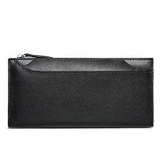 Handtasche Clutch Handbag Schutzhülle Leder Universal H30 für Nokia 8110 2018 Schwarz