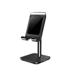 Handy Ständer Smartphone Halter Halterung Stand Universal K01 für Nokia 6.1 Plus Schwarz