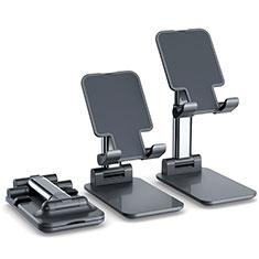 Handy Ständer Smartphone Halter Halterung Stand Universal K06 für Nokia X3 Schwarz