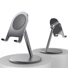 Handy Ständer Smartphone Halter Halterung Stand Universal K09 für Nokia 6.1 Plus Schwarz