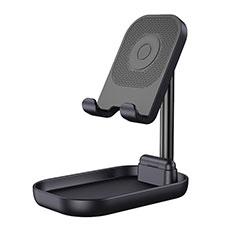 Handy Ständer Smartphone Halter Halterung Stand Universal K18 für Nokia 6.1 Plus Schwarz