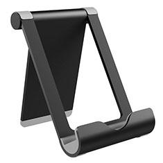 Handy Ständer Smartphone Halter Halterung Stand Universal K21 für Nokia 6.1 Plus Schwarz