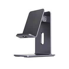 Handy Ständer Smartphone Halter Halterung Stand Universal K23 für Nokia 6.1 Plus Schwarz
