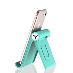 Handy Ständer Smartphone Halter Halterung Stand Universal K27 für Nokia 6.1 Plus Grün