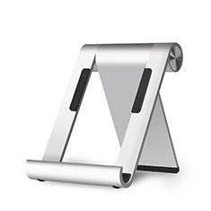 Handy Ständer Smartphone Halter Halterung Stand Universal K29 für Nokia X3 Silber