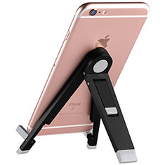 Handy Ständer Smartphone Halter Halterung Stand Universal T15 Schwarz