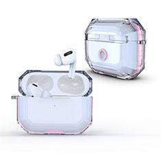 Handyhülle Hülle Crystal Hartschalen Tasche Schutzhülle H01 für Apple AirPods Pro Rosa