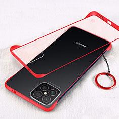 Handyhülle Hülle Crystal Hartschalen Tasche Schutzhülle H01 für Huawei Nova 8 SE 5G Rot