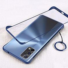 Handyhülle Hülle Crystal Hartschalen Tasche Schutzhülle H01 für Oppo K7x 5G Blau