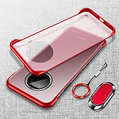 Handyhülle Hülle Crystal Hartschalen Tasche Schutzhülle H01 für Xiaomi Mi 10T Lite 5G Rot