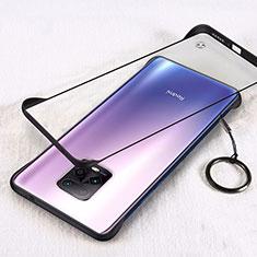 Handyhülle Hülle Crystal Hartschalen Tasche Schutzhülle H01 für Xiaomi Redmi 10X Pro 5G Schwarz