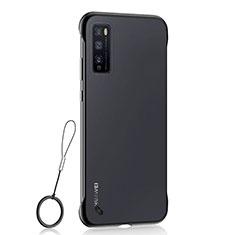 Handyhülle Hülle Crystal Hartschalen Tasche Schutzhülle H02 für Huawei Enjoy 20 Pro 5G Schwarz