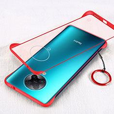 Handyhülle Hülle Crystal Hartschalen Tasche Schutzhülle S01 für Xiaomi Redmi K30 Pro Zoom Rot