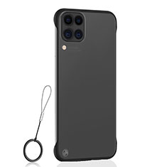 Handyhülle Hülle Crystal Hartschalen Tasche Schutzhülle S02 für Huawei P40 Lite Schwarz