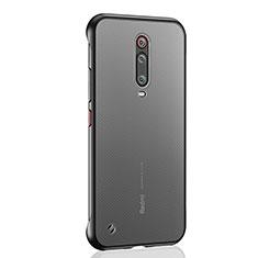 Handyhülle Hülle Crystal Hartschalen Tasche Schutzhülle S03 für Xiaomi Mi 9T Pro Schwarz