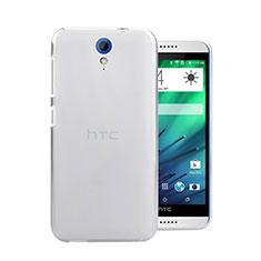 Handyhülle Hülle Crystal Schutzhülle Tasche für HTC Desire 620 Weiß