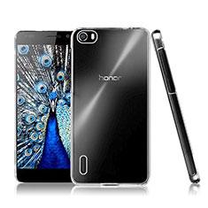 Handyhülle Hülle Crystal Schutzhülle Tasche für Huawei Honor 6 Klar
