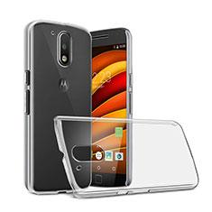Handyhülle Hülle Crystal Schutzhülle Tasche für Motorola Moto G4 Plus Klar