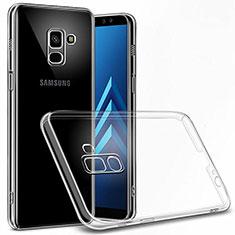 Handyhülle Hülle Crystal Schutzhülle Tasche für Samsung Galaxy A6 (2018) Klar