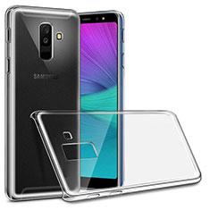 Handyhülle Hülle Crystal Schutzhülle Tasche für Samsung Galaxy A6 Plus (2018) Klar