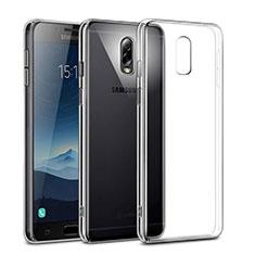 Handyhülle Hülle Crystal Schutzhülle Tasche für Samsung Galaxy J7 Plus Klar