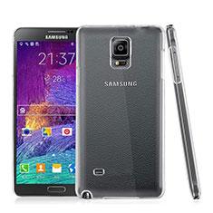 Handyhülle Hülle Crystal Schutzhülle Tasche für Samsung Galaxy Note 4 SM-N910F Klar