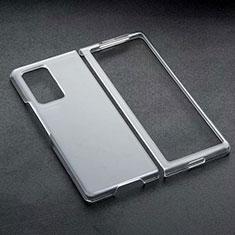 Handyhülle Hülle Crystal Schutzhülle Tasche für Samsung Galaxy Z Fold2 5G Schwarz