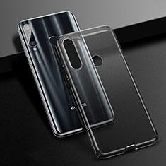 Handyhülle Hülle Crystal Schutzhülle Tasche K01 für Huawei Honor 20 Lite Schwarz