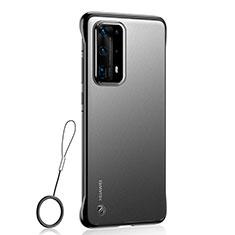 Handyhülle Hülle Crystal Tasche Schutzhülle C01 für Huawei P40 Pro+ Plus Schwarz
