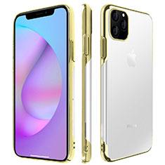 Handyhülle Hülle Crystal Tasche Schutzhülle H01 für Apple iPhone 11 Pro Max Gold