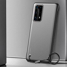 Handyhülle Hülle Crystal Tasche Schutzhülle H01 für Huawei P40 Pro+ Plus Schwarz