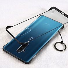 Handyhülle Hülle Crystal Tasche Schutzhülle H01 für OnePlus 7T Pro Schwarz