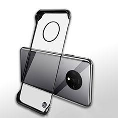 Handyhülle Hülle Crystal Tasche Schutzhülle H01 für OnePlus 7T Schwarz