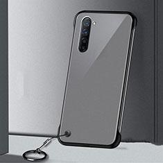 Handyhülle Hülle Crystal Tasche Schutzhülle H01 für Oppo F15 Schwarz