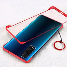 Handyhülle Hülle Crystal Tasche Schutzhülle H01 für Oppo Find X2 Rot