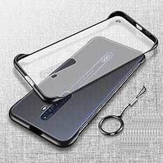 Handyhülle Hülle Crystal Tasche Schutzhülle H01 für Oppo Reno2 Z Schwarz