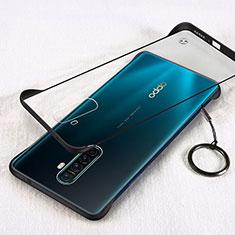 Handyhülle Hülle Crystal Tasche Schutzhülle H01 für Realme X2 Pro Schwarz