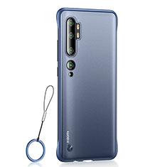 Handyhülle Hülle Crystal Tasche Schutzhülle H01 für Xiaomi Mi Note 10 Blau