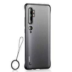 Handyhülle Hülle Crystal Tasche Schutzhülle H01 für Xiaomi Mi Note 10 Schwarz