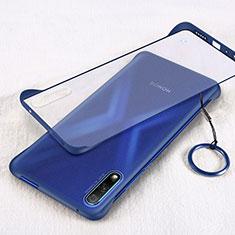 Handyhülle Hülle Crystal Tasche Schutzhülle H02 für Huawei Honor 9X Blau