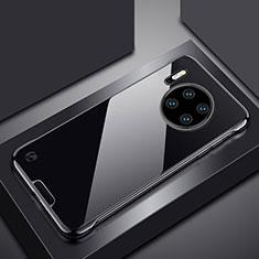 Handyhülle Hülle Crystal Tasche Schutzhülle H02 für Huawei Mate 30 Pro 5G Schwarz