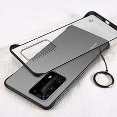 Handyhülle Hülle Crystal Tasche Schutzhülle H02 für Huawei P40 Pro+ Plus Schwarz